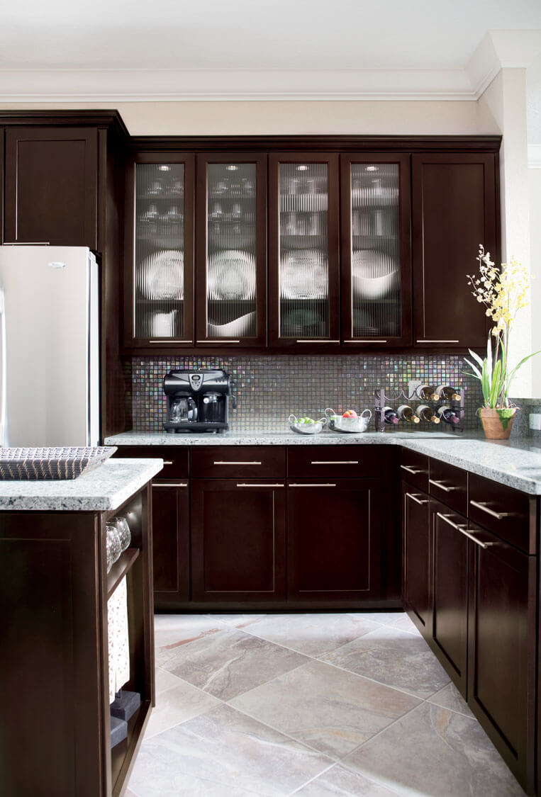 Timberlake Cabinetry brews chic Espresso finish in six collections
