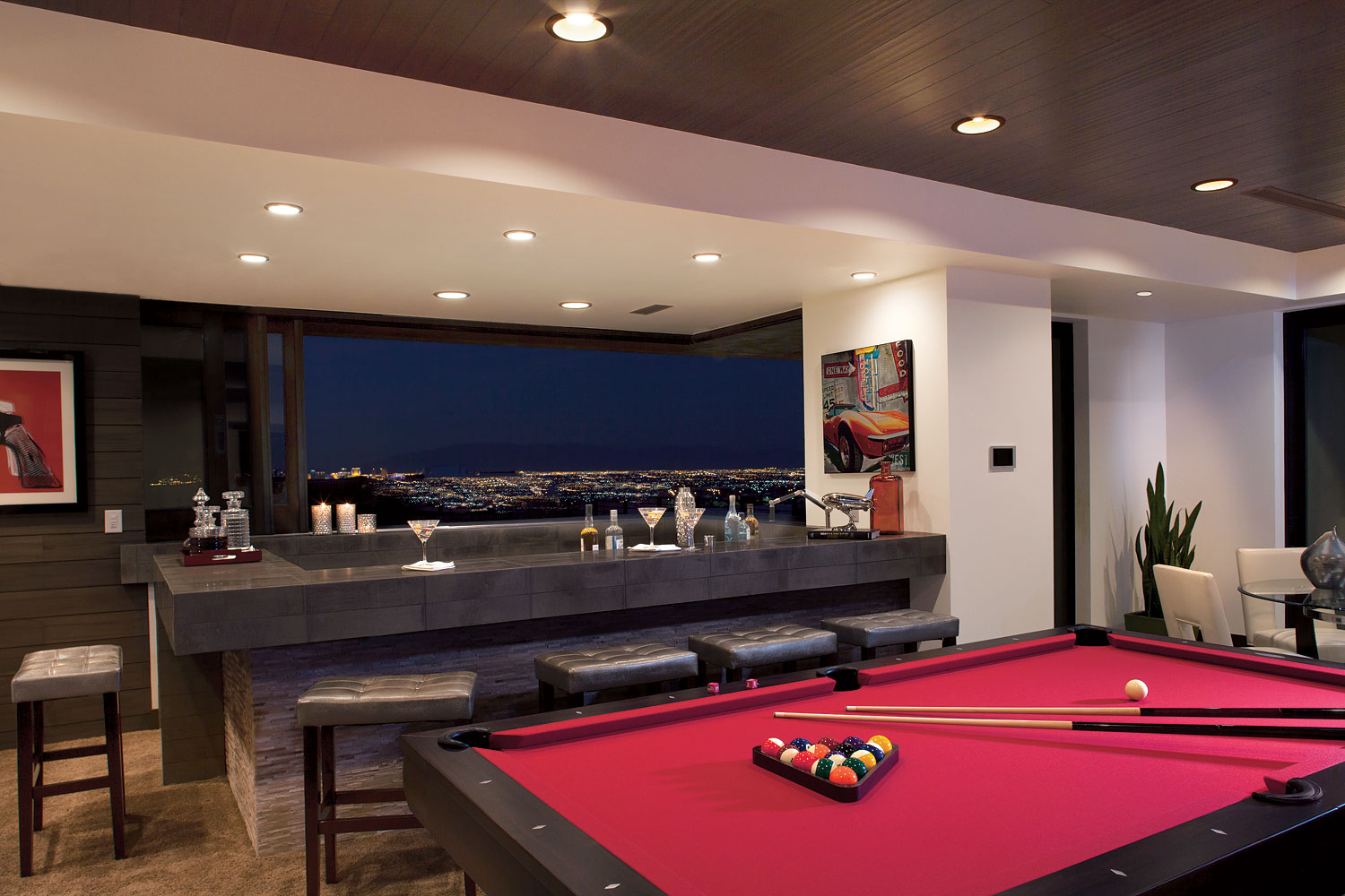 The ultimate vegas party house for New american home las vegas